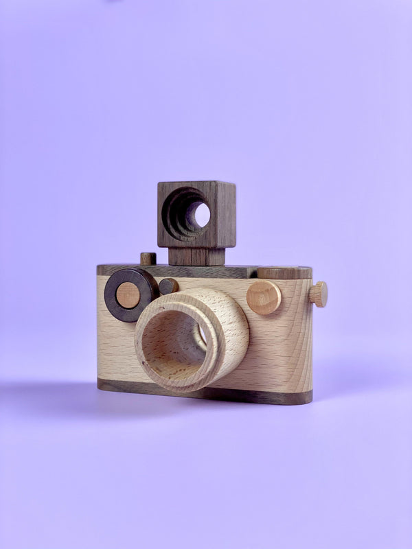35mm Wooden Camera - Light Lion