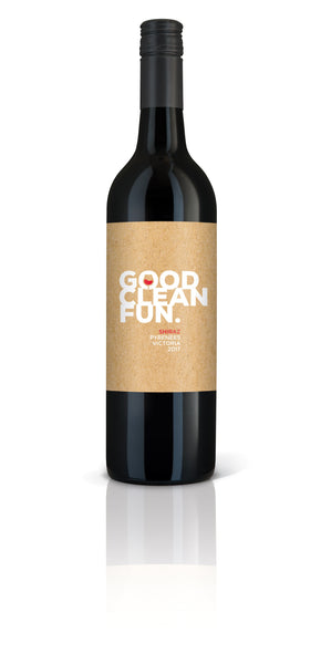 Good Clean Fun Pyrenees Shiraz 2017. Western Victoria Winery