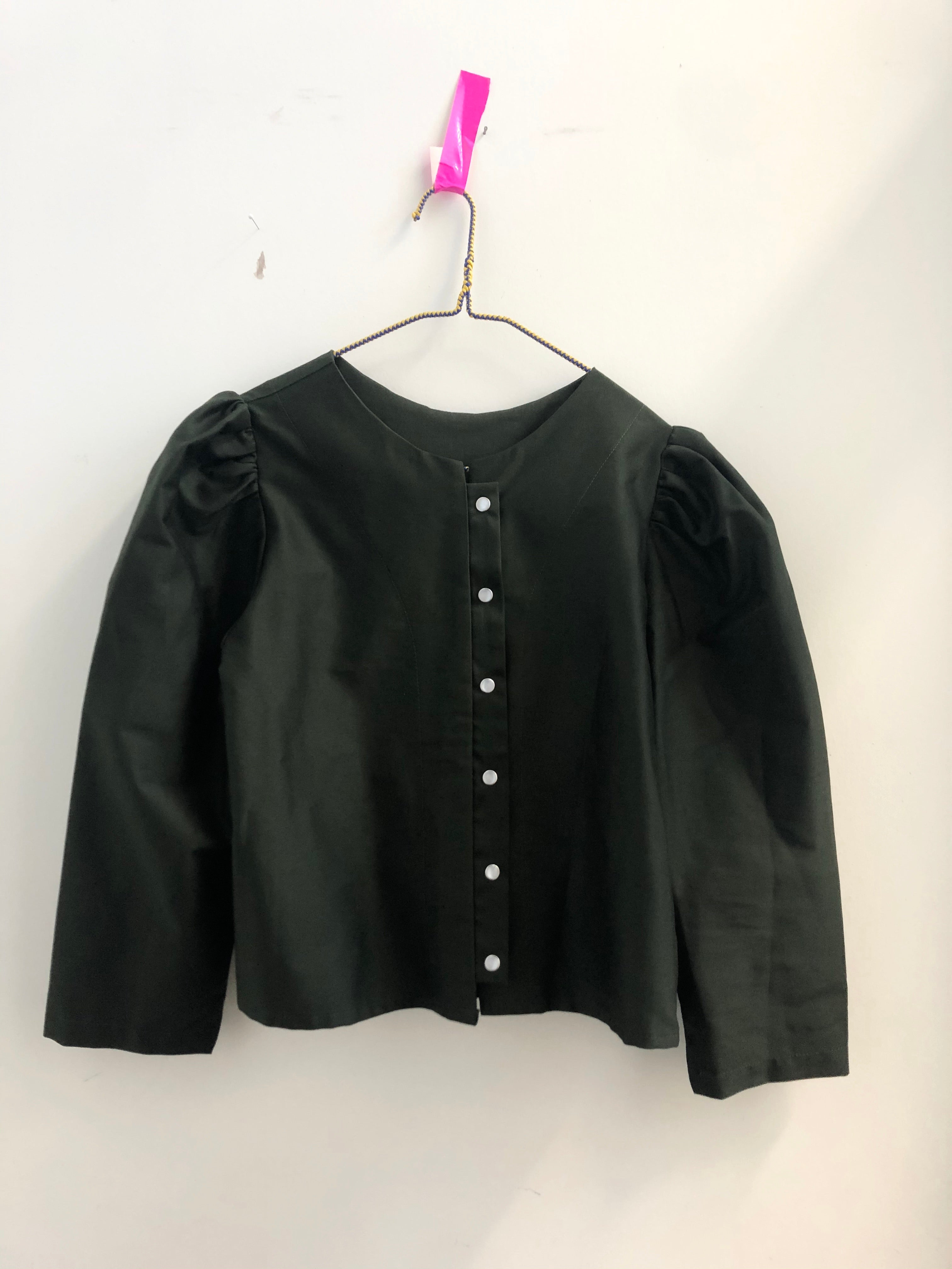 the Pearl blouse-- olive