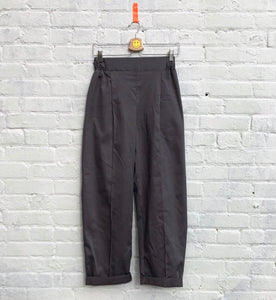 the Pearl trousers-- steel