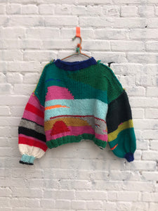 rag sweater #13
