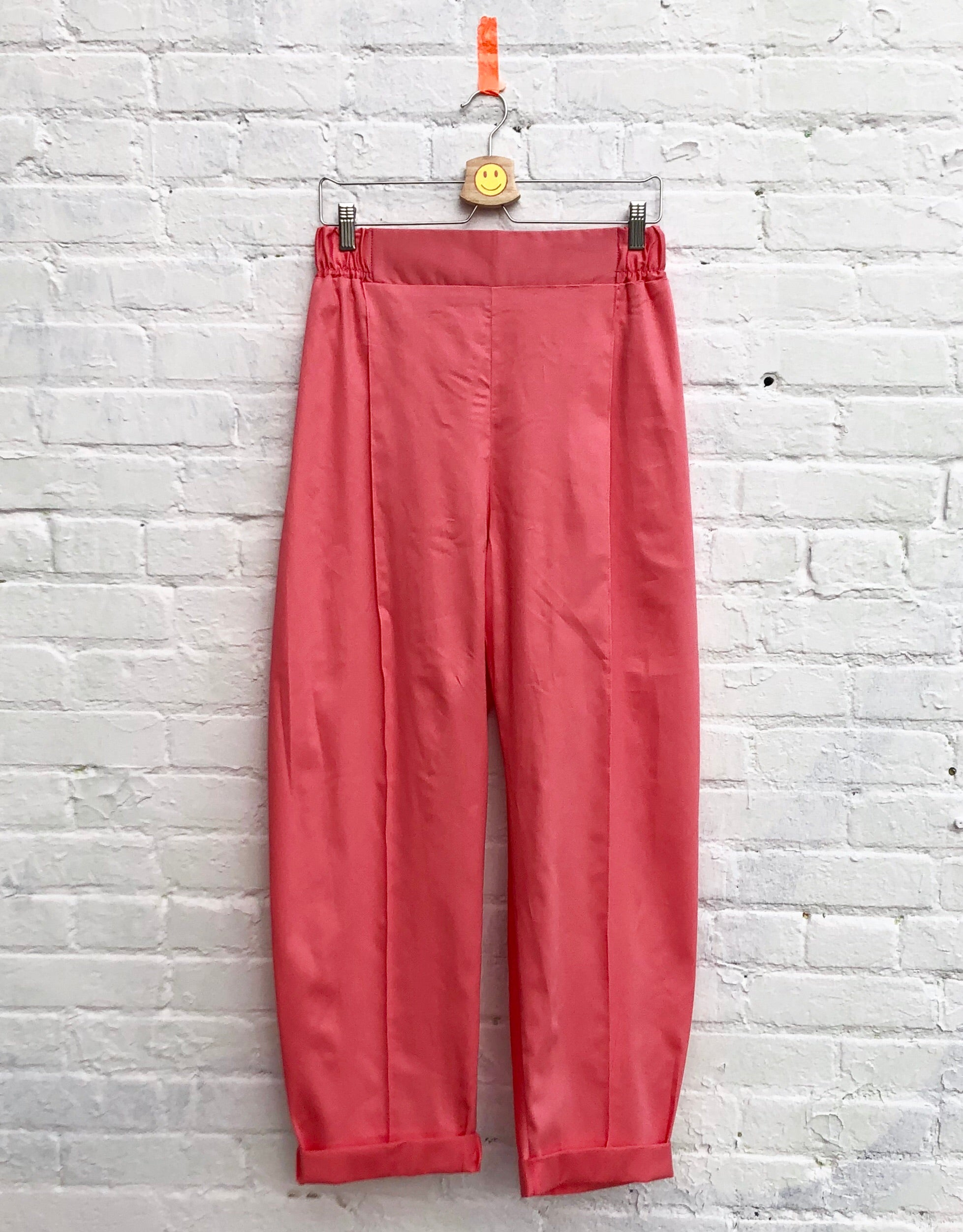 the Pearl trousers-- magnolia