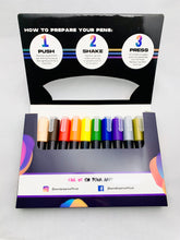 Load image into Gallery viewer, Acrylic Paint Pens, dual nib | Set of 12