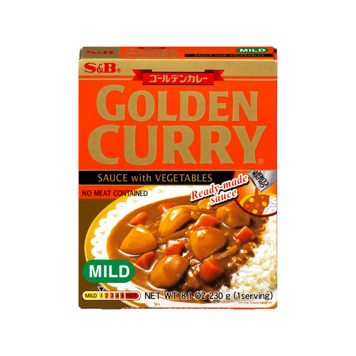 CURRY GOLDEN RETORT MILD 8.1OZ