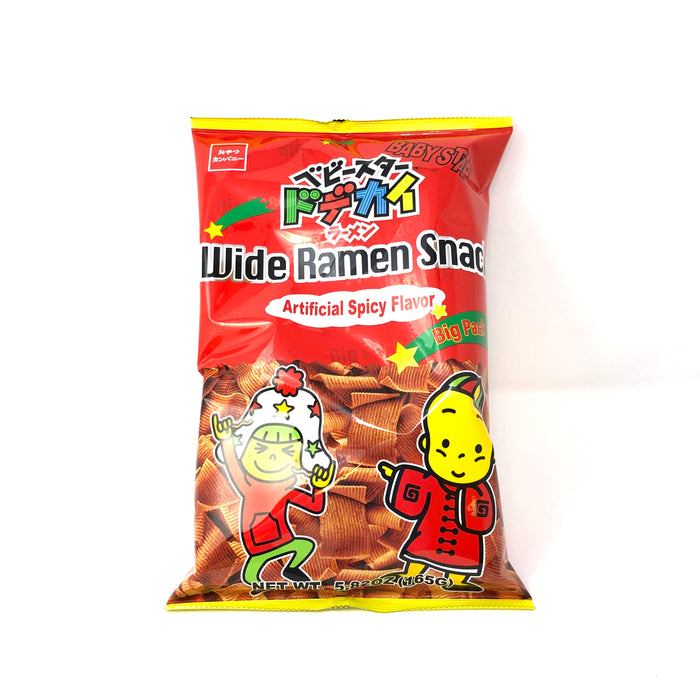 BABY STAR RAMEN SNACK  BIG PK SPICY   5.82 OZ