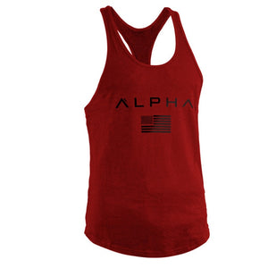 Vest bodybuilding and fitness undershirt tank tops