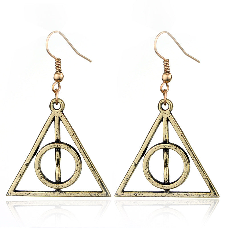 Vintage Harry Potter Dangle Earrings