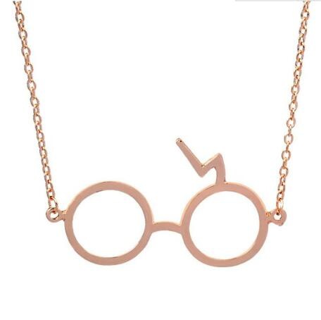 Harry Potter Glasses Pendant Necklace