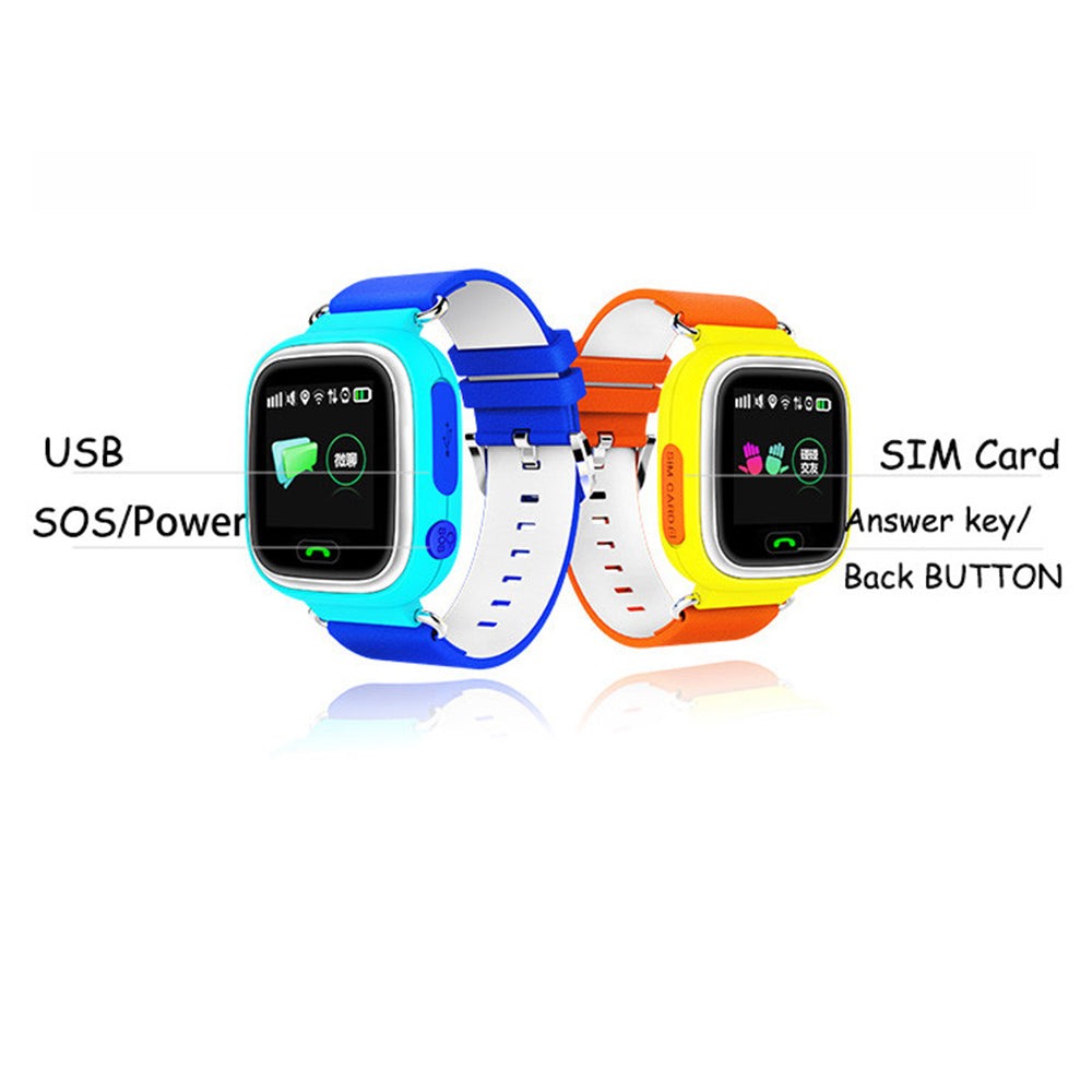 Smartwatch with SOS Alarm Clock and Anti-lost SIM Card for Kids