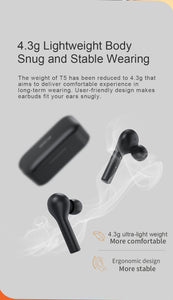Wireless Bluetooth Headphones V5.0 Touch Control