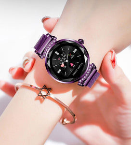 Newest Fashion H2 Smart Watch Women 3D Diamond