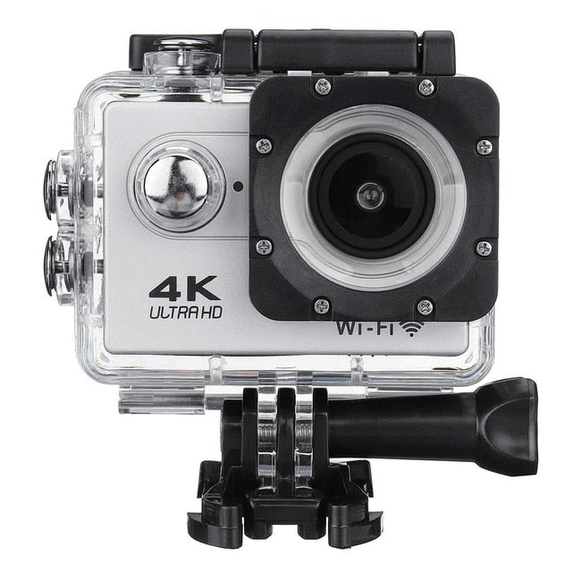 Action Camera Ultra HD 4K 30fps WiFi 2.0