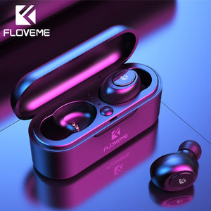 FLOVEME Mini TWS Wireless Headphones Bluetooth 5.0