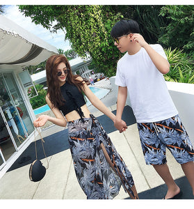 Korean Beach Suits For Couple