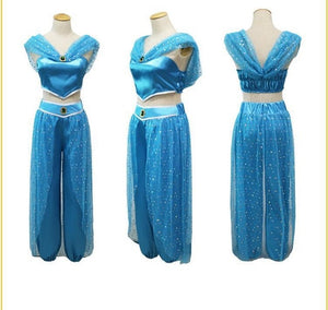 Halloween cosplay Aladdin Jasmine Princess
