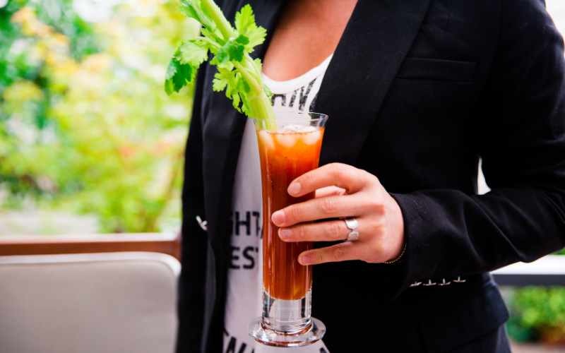 Bloody Mary using Worcestershire Sauce