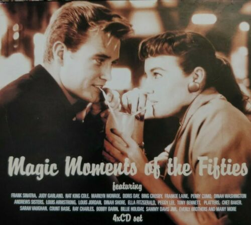 Magic Moments Of The Fifties 4x CD set (2001) 3hr50.46 sec play time