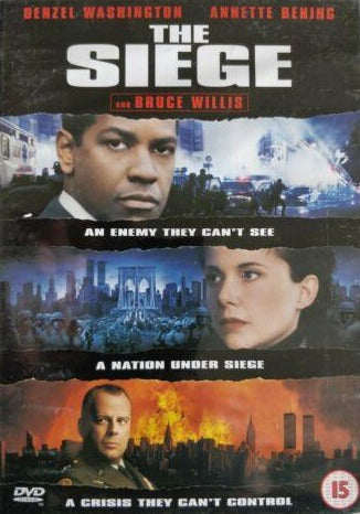 The Siege DVD cert 15 region 2