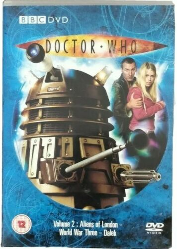 Doctor Who: Volume 2  Very Good DVD, Christopher Ecclest