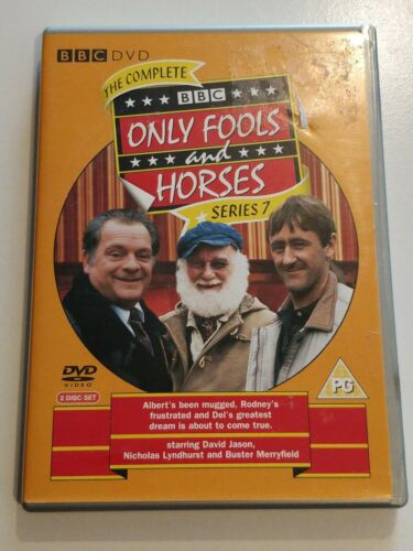 Only Fools And Horses. Complete  Series 7  cert PG 2 Disc Set Fast&Free P&P