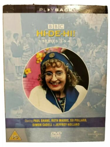 Hi-De-Hi - Series 3-4 - Complete DVD 2004 3-Disc Set