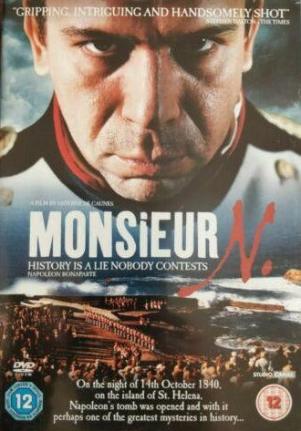 Monsieur N DVD cert 12 region 2