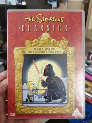 The Simpsons: Bart Wars DVD cert 26 Fast and FREE P & P