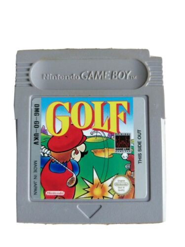 Mario Golf Gameboy Game Video game UK PAL
