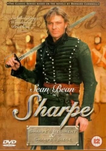 Sharpe's Regiment / Sharpe's Seige 1996 DVD Sean Bean  Bernard cornwell