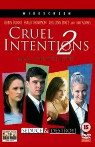 Cruel Intentions 2 DVD David McIlwraith,Tane McClure,Barclay H