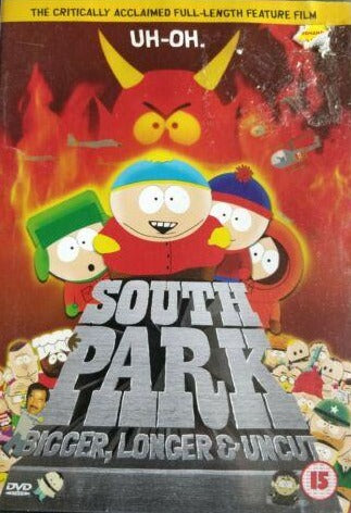 South Park Bigger Longer and Uncut DVD cert 15 region 2