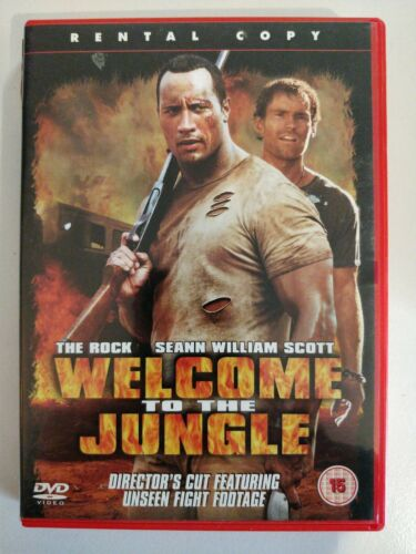 Welcome To The Jungle. The rock DeAnn William Scott and unseen footage [DVD]