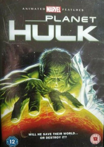 Planet Hulk DVD cert 12 region 2
