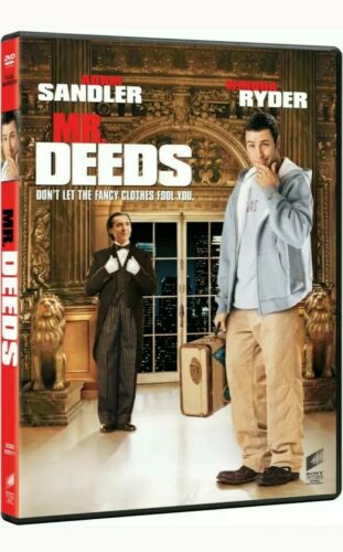 Mr Deeds DVD cert 12  Region 2