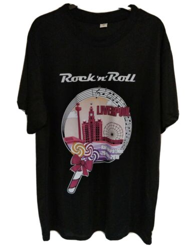 rock n roll half marathon  liverpool 2019 t-shirt Size medium Collectable
