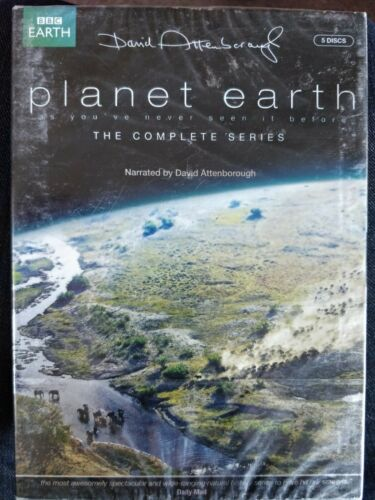 Planet Earth - Complete Series narrated by david attenborough[DVD] New