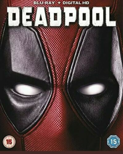 Deadpool Blu-ray cert 15 with sleeve DVD