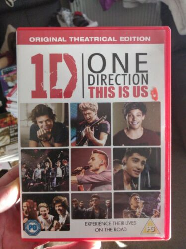 One Direction This Is DVD UV.Harry Styles Zayn Malik Niall Horan Louis Tomlinson