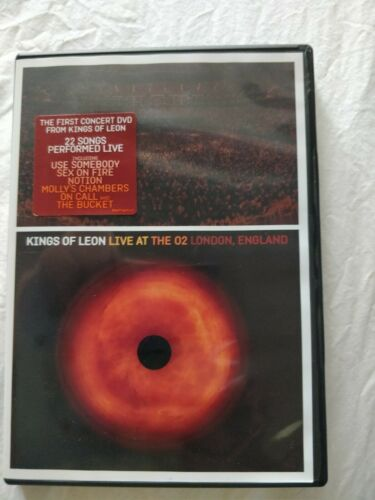 Kings of Leon Live AT O2 London DVD region 0 Music Concert