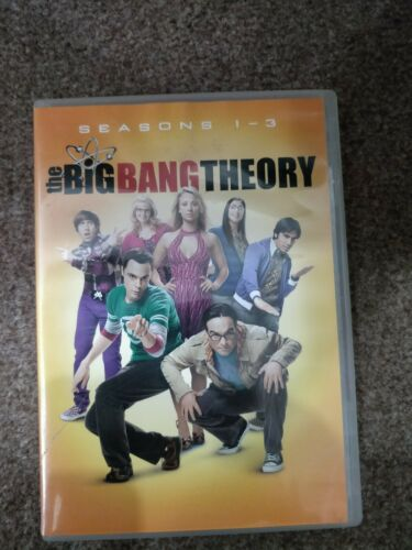 The Big Bang Theory - Series 1 - 3 = 9 disc third season disc two  missing