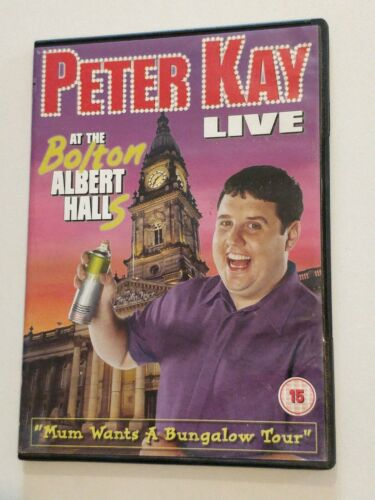 Peter Kay - Live At The Bolton Albert Halls (DVD) 32591990278714