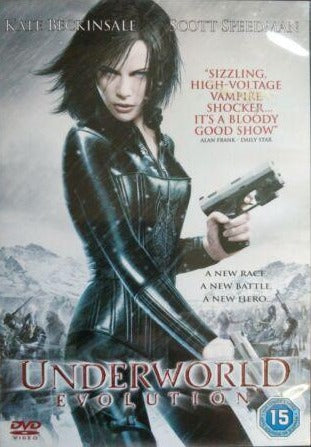 Underworld Evolution DVD cert 18 region 2