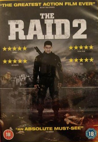 The Raid 2 DVD cert 18 region 2