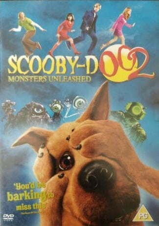 Scooby-Doo 2 DVD cert PG region 2  Monsters Unleashed