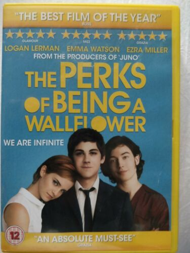 The Perks Of Being A Wallflower (DVD,)