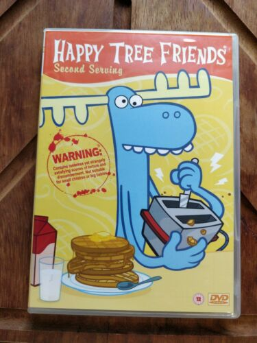 Happy Tree Friends: Second Serving DVD and Handy Mini Figure Set
