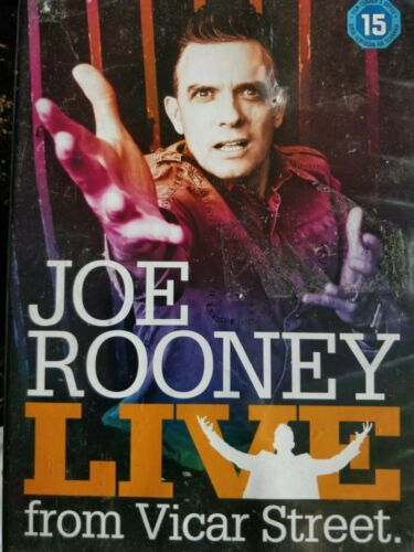 Joe Rooney Live from Vicar Street DVD cert 15 Region 2