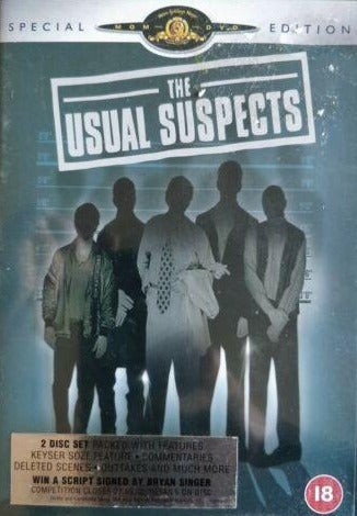 The Usual Suspects DVD cert 18 region 2