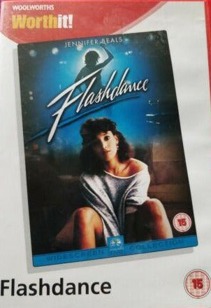 Woolworths Flashdance DVD cert 15 region 2