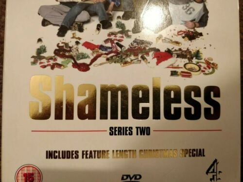 Shameless - Series 2 And Christmas Special (DVD, SC(DIR) cert L1